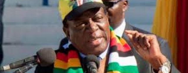 'Dream on', Zim president says of government of national unity