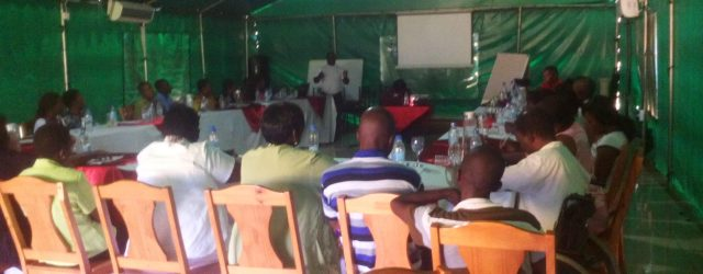 MACRAD conducted a capacity building training