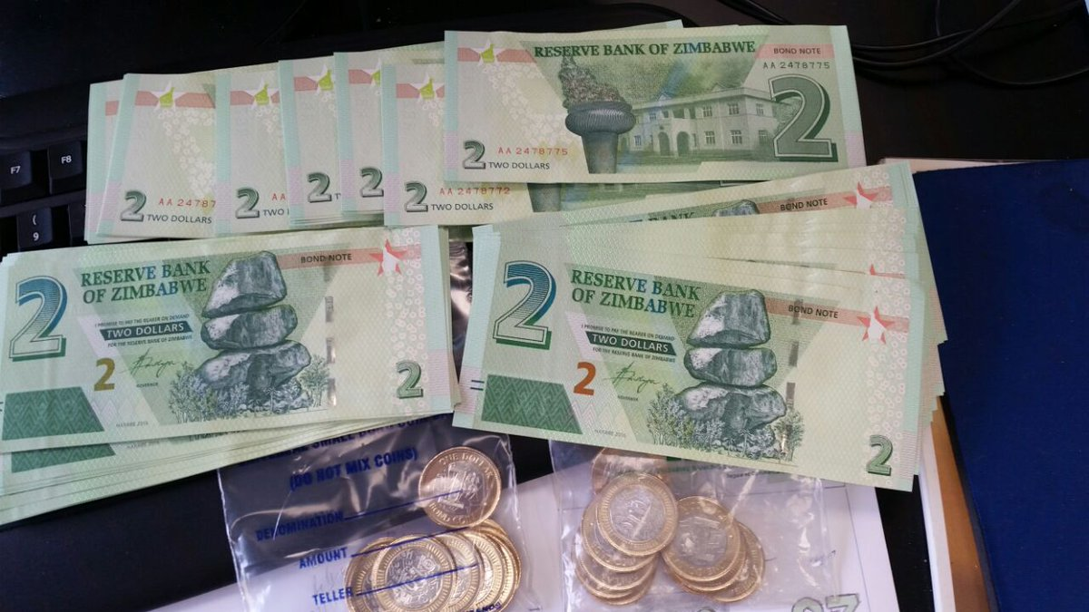 Zimbabwe Launches New Currency Measure In Bid To Ease Economic Crisis
