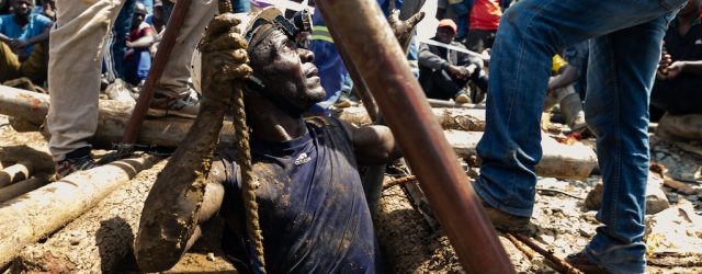 Eight trapped Zimbabwean miners rescued alive