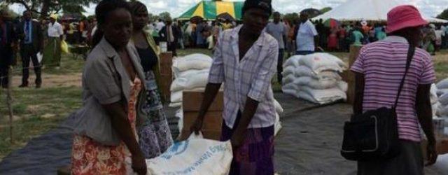 Irish humanitarian aid agency, GOAL, upscales food distribution in Zimbabwe