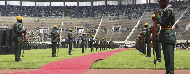 Crowds shun Robert Mugabe's funeral