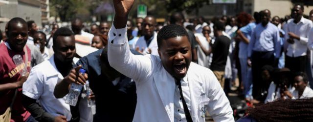 Zimbabwe's doctors' strike reaches 100 days mark