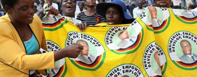 Zimbabweans, foreign leaders bid farewell to Robert Mugabe