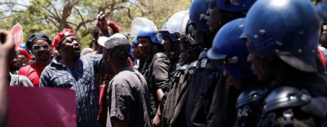 Zimbabwe govt should stop regarding suffering citizens as 'enemies of the state'