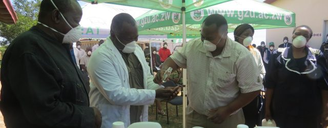 Zimbabwe's universities are manufacturing masks, gloves and hand sanitizers to beat coronavirus