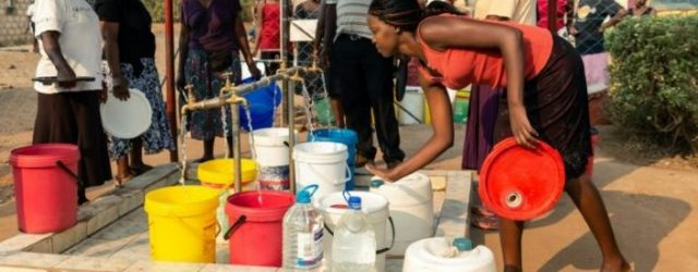 Water crisis could sabotage Zimbabwe's coronavirus lockdown